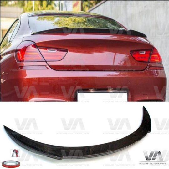 BMW 6 Series F12 F13 M6 CARBON FIBER Boot Spoiler