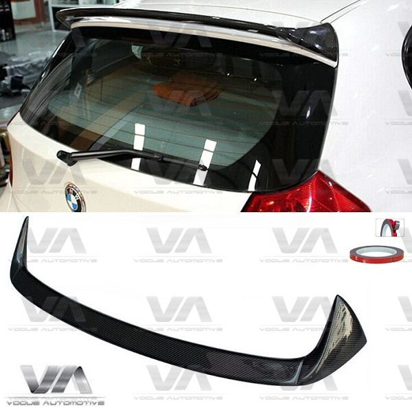 BMW 1 Series E81 E87 CARBON FIBER Roof Spoiler