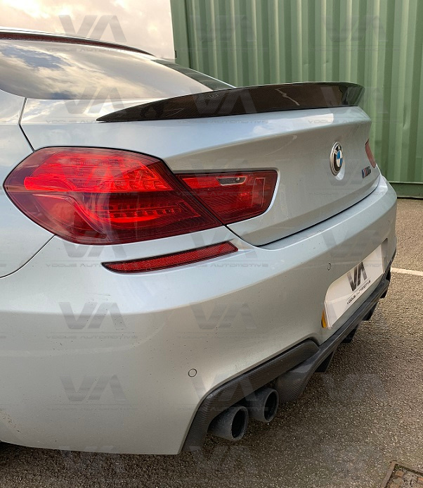 BMW 6 Series F06 M6 PERFORMANCE Style CARBON FIBER Boot Spoiler