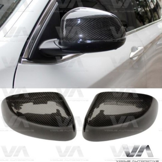 BMW X SERIES X3 F25 X4 F26 X5 F15 X6 F16 DIRECT REPLACEMENT CARBON FIBER MIRROR COVERS