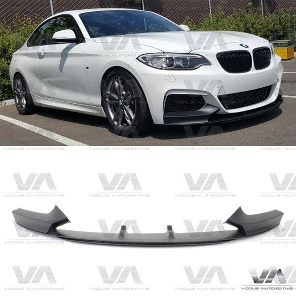 BMW 2 Series F22 F23 M Sport PERFORMANCE Style Front Splitter