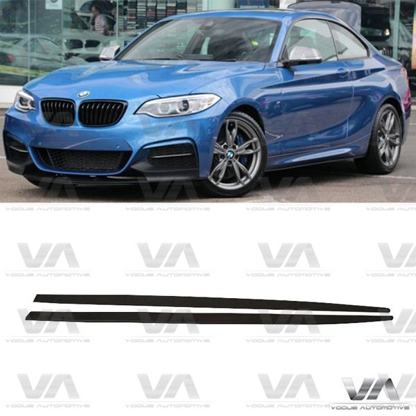 BMW 2 Series F22 F23 PERFORMANCE Style Side Skirts