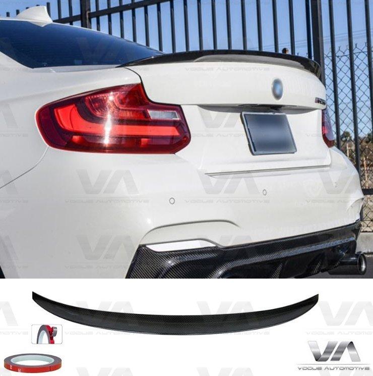 BMW 2 Series F22 F23 F87 M2 PERFORMANCE Style CARBON FIBER Boot Spoiler