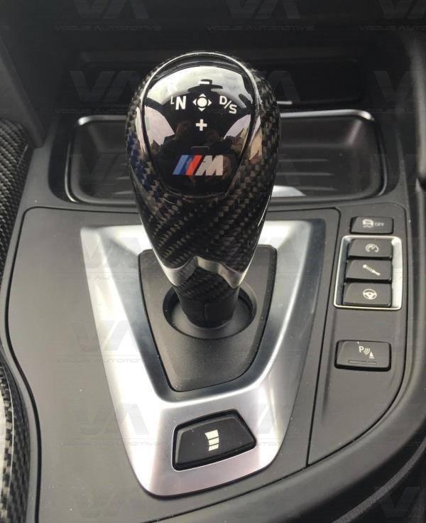BMW M3 M4 F80 F82 F83 CARBON FIBER Gear Knob Trim