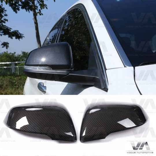 BMW 2 Series F43 F45 X1 F48 Replacement CARBON FIBER Mirror Covers