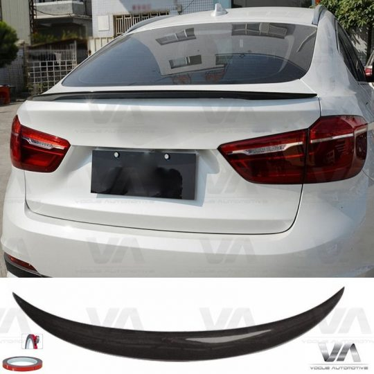 BMW X SERIES F16 X6 PERFORMANCE CARBON FIBER BOOT SPOILER