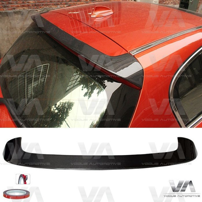 BMW 1 Series F20 F21 PRE LCI PERFORMANCE Style CARBON FIBER Roof Spoiler