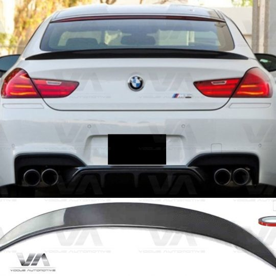 BMW 6 Series F12 F13 M6 PERFORMANCE Style CARBON FIBER Boot Spoiler
