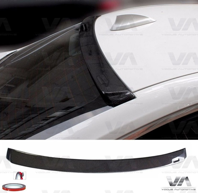 BMW 3 Series F30 CARBON FIBER Roof Spoiler