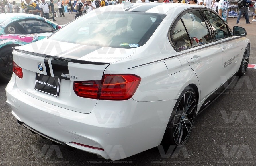 BMW 1 3 5 Series F10 F20 F30 PERFORMANCE Style Bonnet Stripes Roof Tailgate Decals