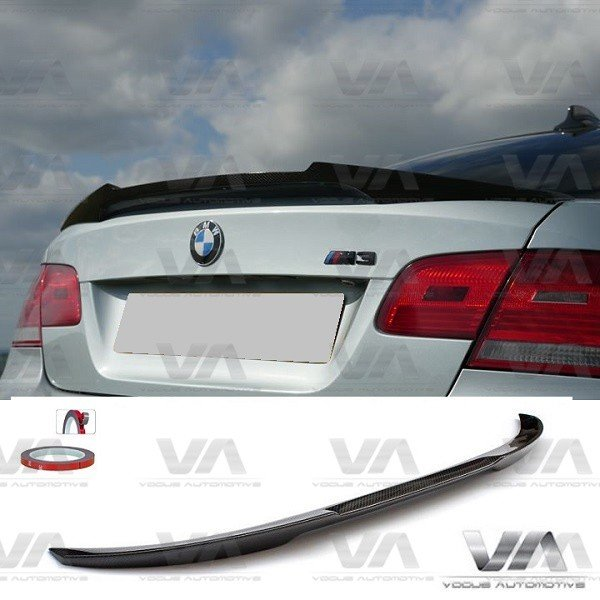 BMW 3 Series E92 M3 M4 Style CARBON FIBER Boot Spoiler