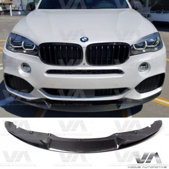 BMW X SERIES F15 X5 PERFORMANCE CARBON FIBER FRONT SPLITTER