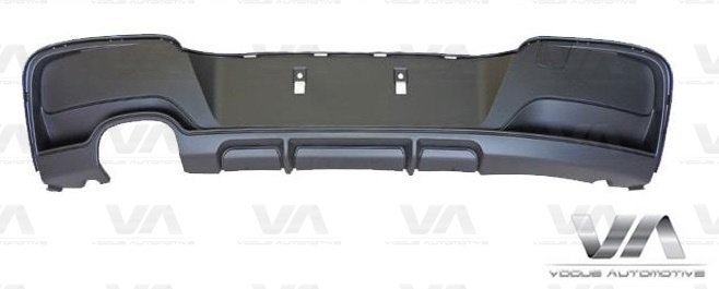 BMW 1 Series F20 F21 PRE LCI M Sport PERFORMANCE Style Twin Exhaust Rear Diffuser