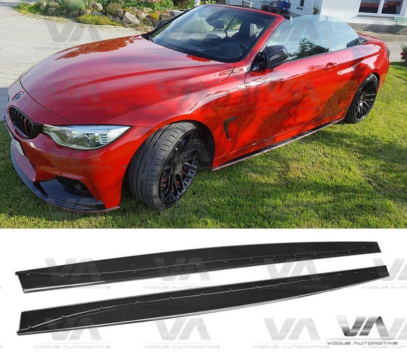 BMW 4 Series F32 F33 F36 M Sport CARBON FIBER Side Skirts