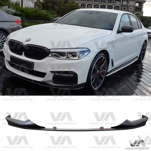 BMW 5 Series M Sport G30 G31 PERFORMANCE Style Front Splitter