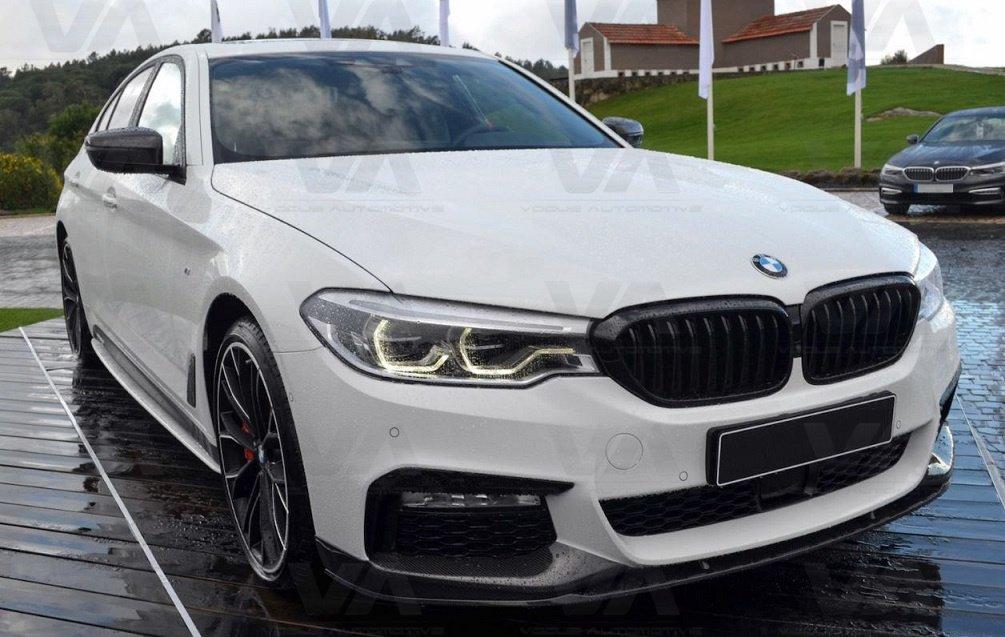 BMW 5 Series M Sport G30 G31 PERFORMANCE Style Front Splitter