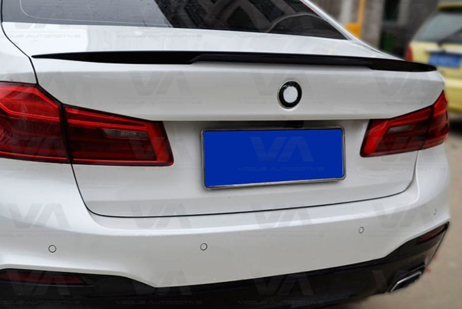 BMW 5 Series G30 M5 PERFORMANCE Style CARBON FIBER Boot Spoiler