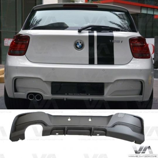 BMW 1 Series F20 F21 M Sport PERFORMANCE Style Twin Exhaust Rear Diffuser