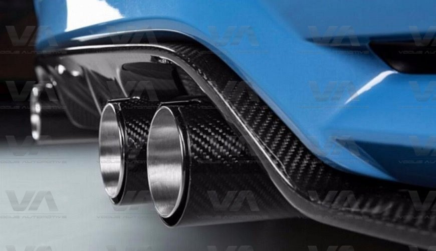 BMW F10 M5 F85 X5M F87 M2 F80 M3 F82 F83 M4 CARBON FIBER Exhaust Tips