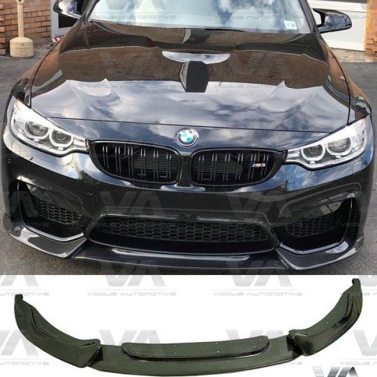 BMW 3 4 SERIES M3 M4 F80 F82 F83 VARIS CARBON FIBER FRONT SPLITTER