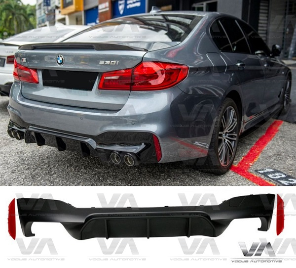 BMW 5 Series M Sport G30 M5 Style Rear Diffuser