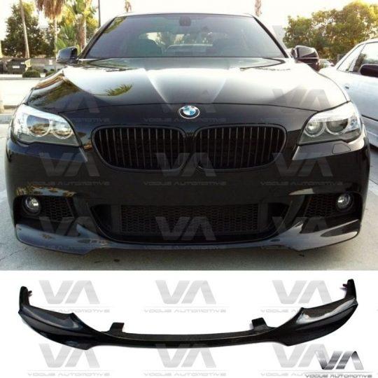 BMW 5 SERIES M SPORT F10 F11 FRONT LIP SPOILER SPLITTER