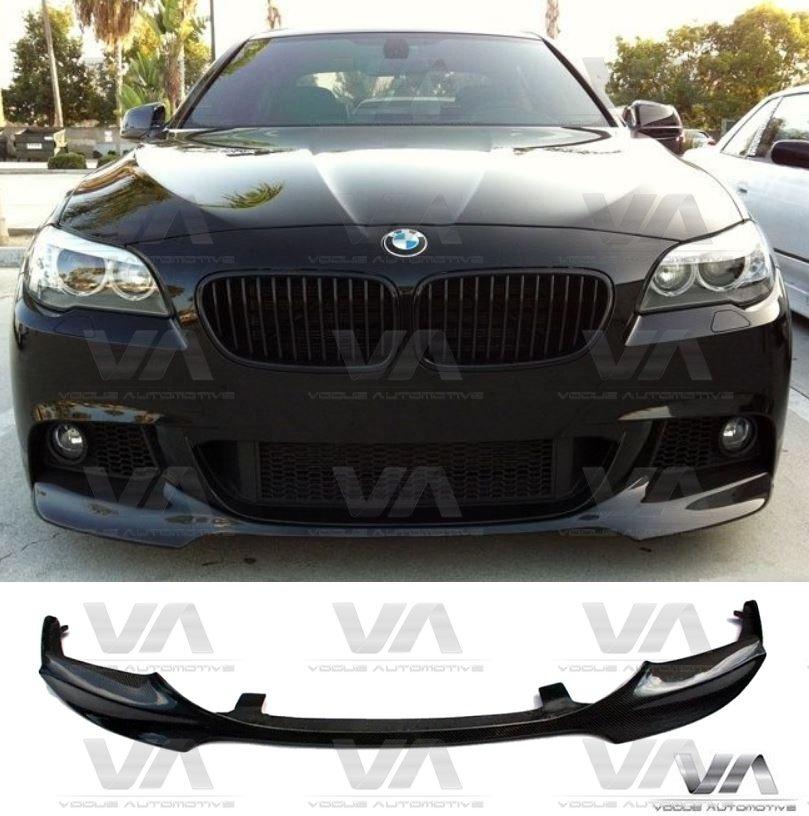 BMW 5 Series M Sport F10 F11 Front Splitter