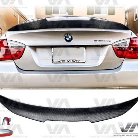 BMW 3 SERIES E90 M3 PSM STYLE CARBON FIBER BOOT TRUNK SPOILER