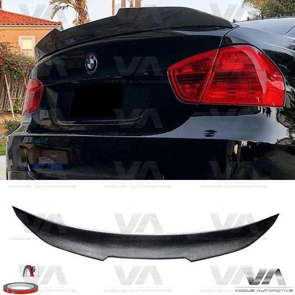 BMW 3 Series E90 M3 PSM Style CARBON FIBER Boot Spoiler