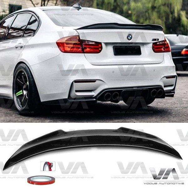 BMW 3 Series M3 F30 F80 PSM Style CARBON FIBER Boot Spoiler