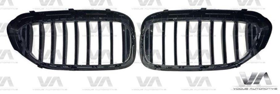 BMW 5 Series G30 G31 GLOSS BLACK Single Kidney Grilles