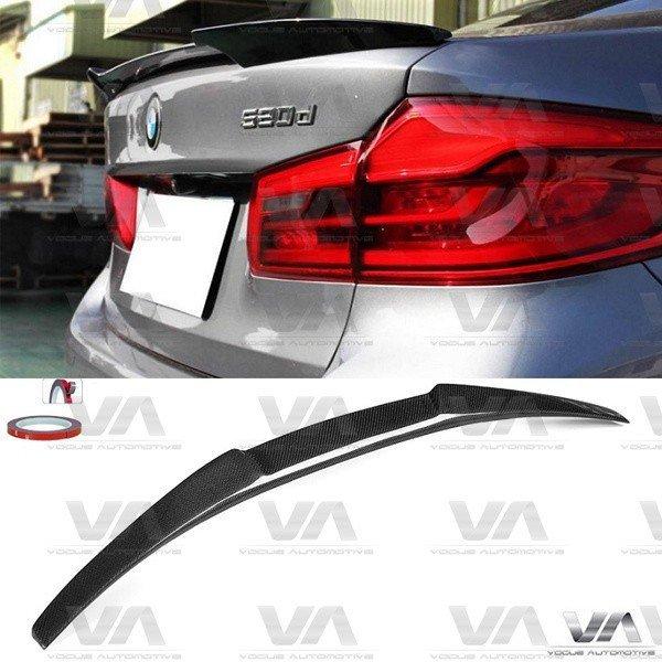 BMW 5 Series G30 M5 M4 Style CARBON FIBER Boot Spoiler