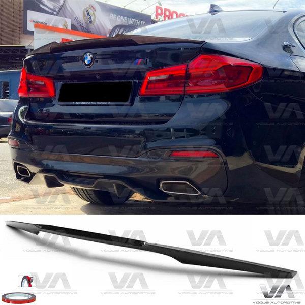 BMW 5 Series G30 F90 M5 M4 Style CARBON FIBER Boot Spoiler