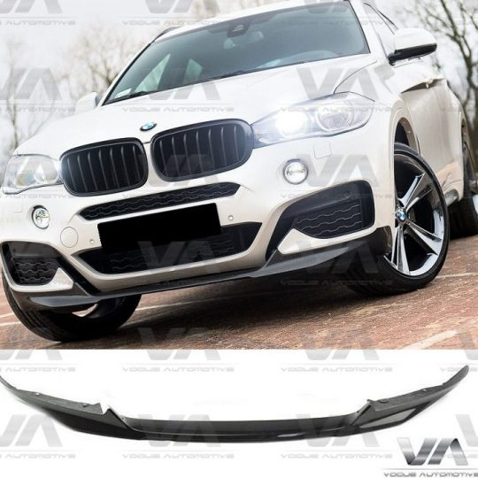 BMW X6 M F16 PERFORMANCE CARBON FIBER FRONT SPLITTER