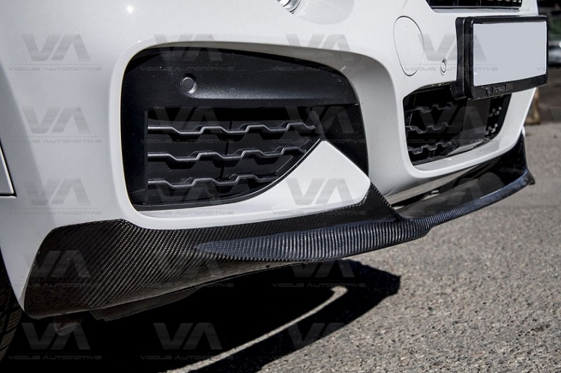 BMW X6 F16 PERFORMANCE Style CARBON FIBER Front Splitter