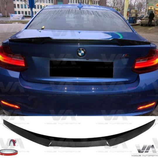 BMW 2 Series F22 F87 M4 Style CARBON FIBER Boot Spoiler