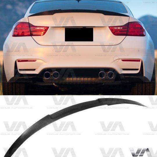 BMW F82 CARBON FIBER M4 Style Boot Spoiler