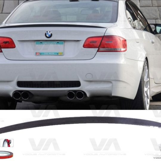 BMW 3 SERIES E92 M3 REAL CARBON FIBER BOOT SPOILER