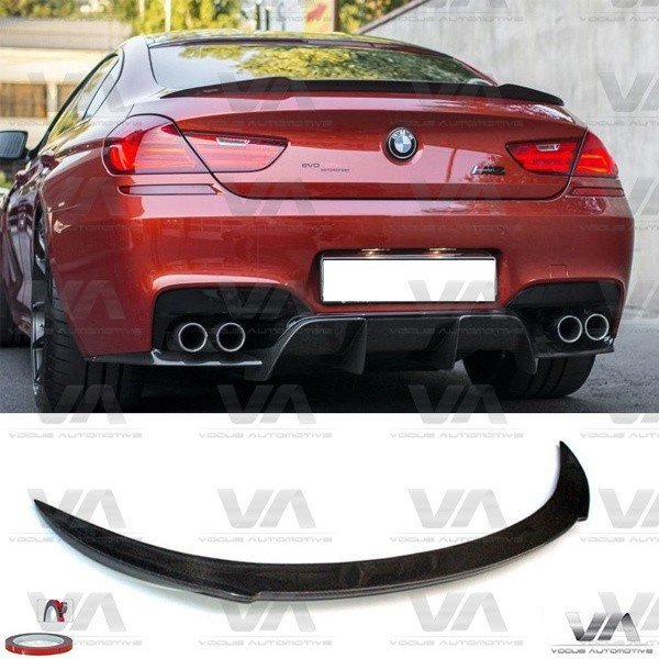 BMW 6 Series M F06 M6 CARBON FIBER Boot Spoiler