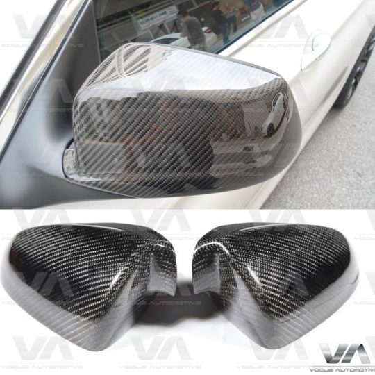 BMW M5 M6 F10 DIRECT REPLACEMENT CARBON FIBER MIRROR COVERS