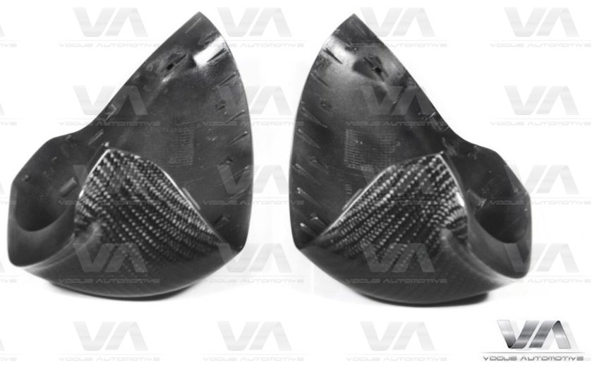 BMW M5 M6 F10 Replacement CARBON FIBER Mirror Covers