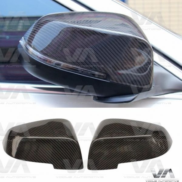 BMW 5 6 7 Series F10 F11 F06 F12 F13 F01 LCI Replacement CARBON FIBER Mirror Covers