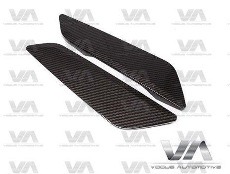 BMW 5 Series G30 G31 CARBON FIBER Side Vents Fender Trims