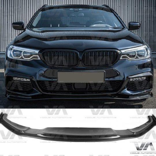 BMW 5 SERIES M SPORT G30 G31 HM STYLE CARBON FIBER FRONT SPLITTER