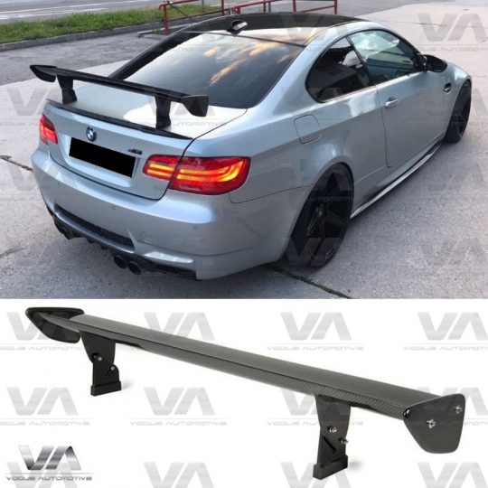 BMW 3 SERIES E90 E92 E93 M3 GTS STYLE REAL CARBON FIBER BOOT TRUNK SPOILER