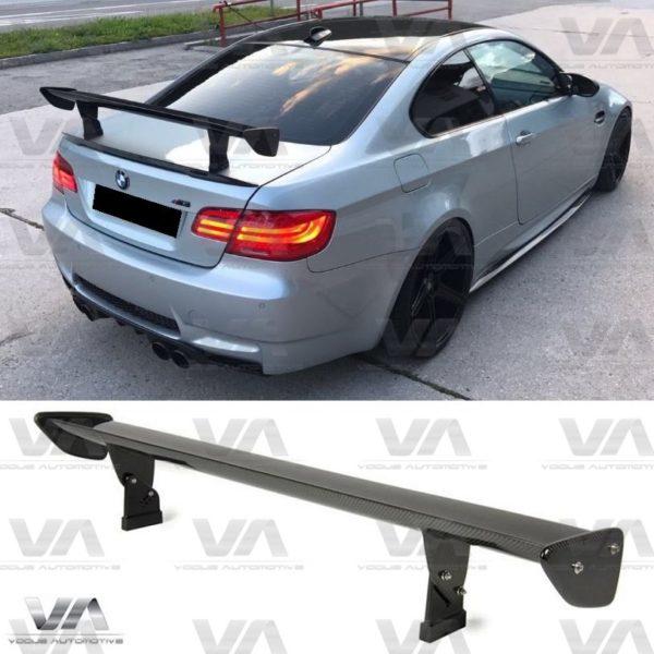 BMW 3 Series E90 E92 E93 M3 GTS Style CARBON FIBER Boot Spoiler
