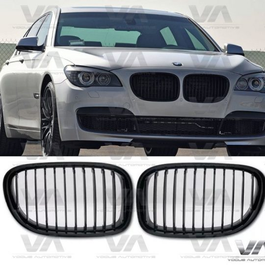 BMW 7 Series F01 F02 F03 F04 GLOSS BLACK Single Kidney Grilles
