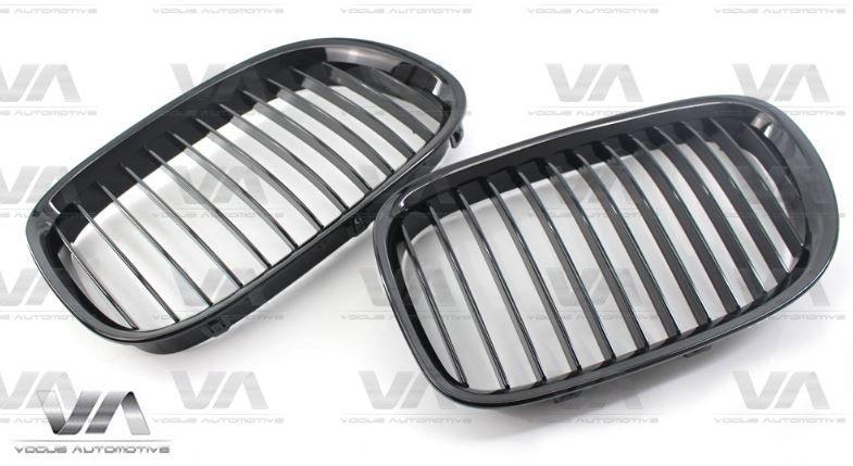 BMW 7 Series F01 F02 F03 F04 GLOSS BLACK Single Kidney Grilles