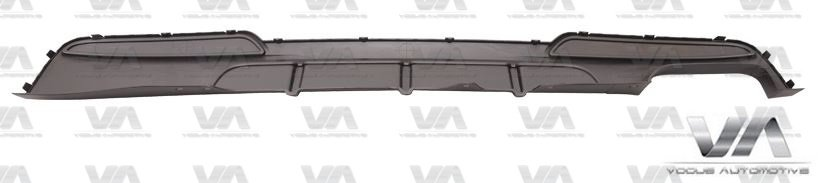 BMW 5 Series M Sport F10 F11 PERFORMANCE Style Twin Exhaust Rear Diffuser