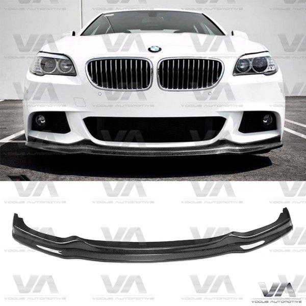 BMW 5 Series F10 F11 M Sport AK Style CARBON FIBER Front Splitter